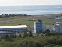 Der Inlands-Flugplatz von Reykjavik