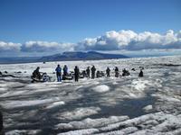 Auf dem Gletscher Langjökull