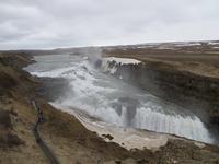 Unser 2. Wasserfall - der Gulfoss