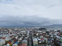 Reykjavik -Blick von der Hallgrimskirche
