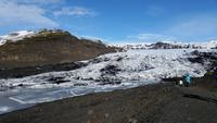 Gletscher Solheimajökull