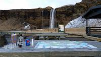 Picknick am Seljalandsfoss