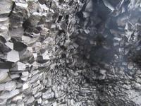 Basalthöhle am Strand von Vik