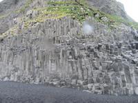 Basaltsäulen am Strand von Vik