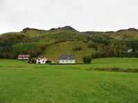Alte Häuser am Skogar Museum