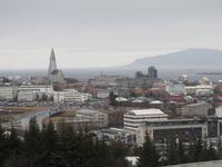 Blick auf Reykjavík