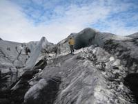 Am Gletscher Sólheimajökull