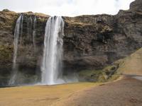 Wasserfall an der Südküste