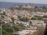 die Stadt Lipari