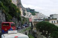 Zufahrt nach Amalfi