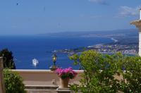 Aussicht von Taormina