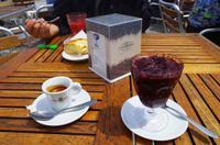 Lecker Granita und starker Espresso bei Alfredo