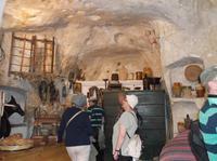 In einer Höhlenwohnung