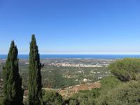 Aussichtspunkt oberhalb des Safariparks von Fasano