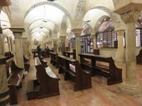 In der Unterkirche der Basilika San Nicola Bari