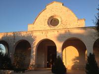 die Kirche von Selva di Fasano