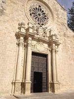 während der Stadtbesichtigung von Otranto