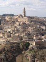 Panoramablick über Matera