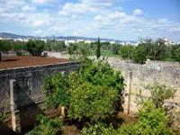 19.04.2014 Ausblick vom Hochgeschoss Masseria Priore