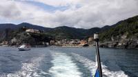 Schifffahrt mit Blick auf die Cinque Terre