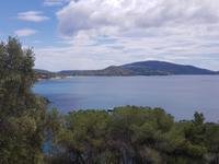 Blick auf das Meer von der Insel Elba aus