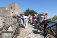 Geschafft: wir erreichen die Villa des Tiberius