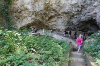 Abstieg zur Grotta di Matermania