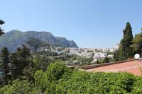 Auf der Via Tragara Richtung Capri-Stadt