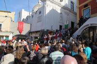 Prozession zu Ehren von San Constanzo, dem Schutzheiligen Capris