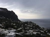 Blick auf Capri von der Piazzetta