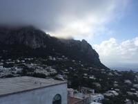 Blick hinauf nach Anacapri