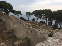 Die Villa Jovis auf dem Monte Tiberio