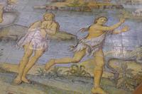 Sant Michele hier Auszug aus wunderschönen Fußboden aus Fliesen