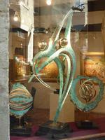 Was diese Skulptur hier aussagen sollte... wer weiß. Es schien aber etwas mit dem Meer zu tun zu haben.