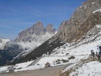 Dolomiten-Rundfahrt (Auffahrt zum Pordoi-Joch)