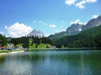 11.06.2014 Dolomitenrundfahrt, Misurina-See