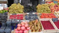 Obstmarkt an den Lauben