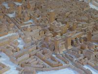 Modell der Stadt Ferrara im Castello Estense
