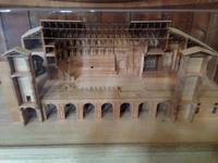 Modell des Teatro Farnese
