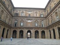 Florenz (Innenhof des Palazzo Pitti)