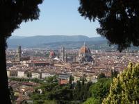 Florenz zu unseren Füßen