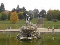 Florenz (Besuch des Boboli-Gartens - Neptunbrunnen)