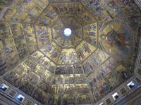 Florenz – Mosaik in der Kuppel der Taufkirche