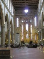 Florenz – in der Franziskanerkirche St. Croce