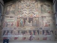 Florenz – Lebensbaum im Refektorium der Franziskanerkirche