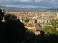 Blick vom Bardini-Garten auf Florenz