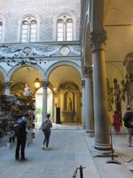Innenhof des Palazzo Medici Riccardi