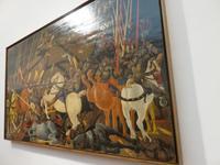 In den Uffizien von Florenz – the Battle of San Romano
