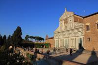 Vor der Kirche San Miniato