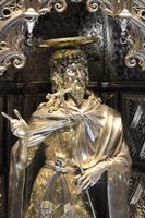 Detail aus dem Altar aus dem Baptisterium